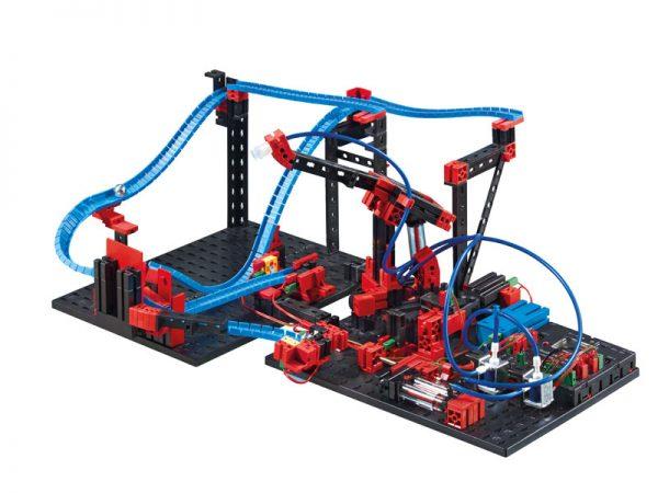 516186_RoboTXT_ElectroPneumatic_Kugelparcours_Vakuumgreifer