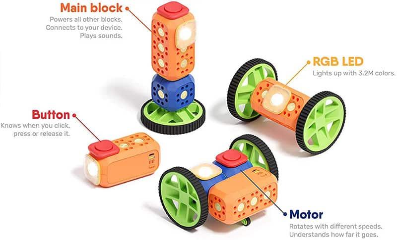 Kit de educación STEAM Robo Wunderkind