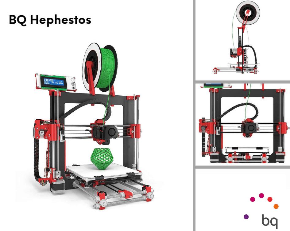 Impresoras 3D BQ Hephestos