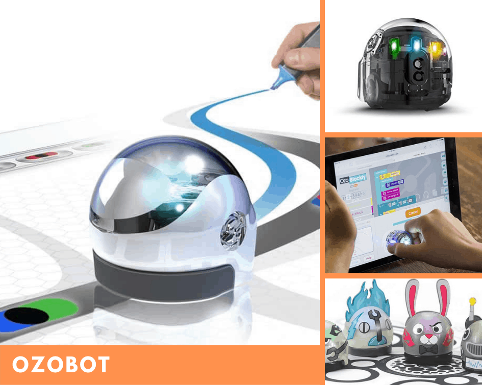Ozobot robot educativo para niños y jóvenes