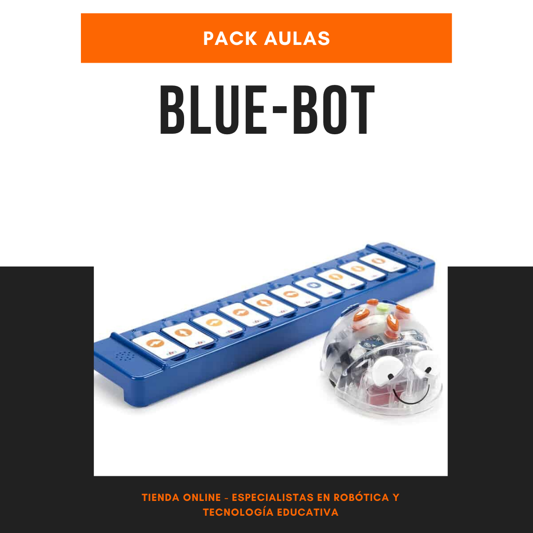 Pack aulas Blue-Bot